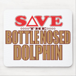 Bottle Nosed Dolphin Save Mouse Pad