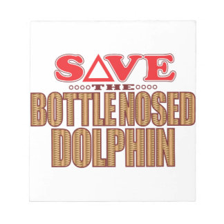 Bottle Nosed Dolphin Save Notepad