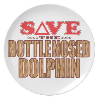Bottle Nosed Dolphin Save Plate