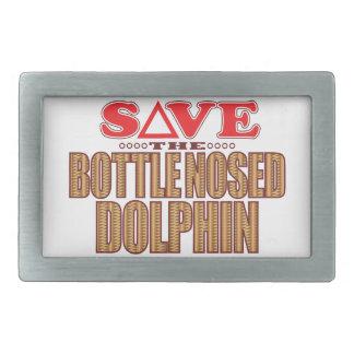 Bottle Nosed Dolphin Save Rectangular Belt Buckles