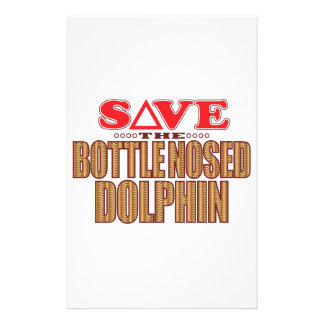Bottle Nosed Dolphin Save Stationery