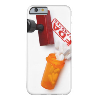 Bottle of Pills and a FDA APPROVED rubber stamp Barely There iPhone 6 Case