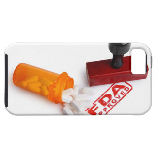 Bottle of Pills and a FDA APPROVED rubber stamp Case For The iPhone 5