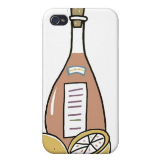 Bottle of Red Wine Case For The iPhone 4