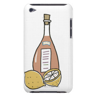 Bottle of Red Wine iPod Case-Mate Cases