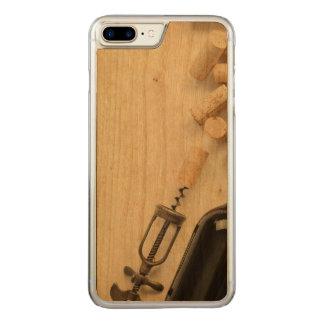 Bottle of Wine Carved iPhone 8 Plus/7 Plus Case