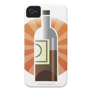Bottle of Wine Case-Mate iPhone 4 Case