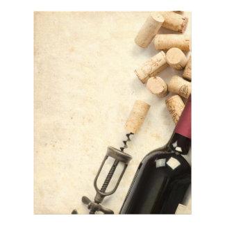 Bottle of Wine Flyer