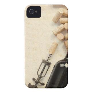 Bottle of Wine iPhone 4 Case-Mate Case