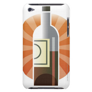 Bottle of Wine iPod Touch Case-Mate Case