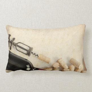 Bottle of Wine Lumbar Cushion