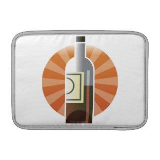 Bottle of Wine MacBook Sleeve