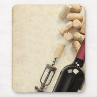 Bottle of Wine Mouse Mat