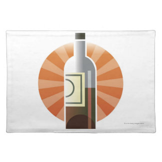 Bottle of Wine Placemat