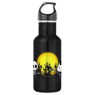 Bottle - RiceBall Samurai VS Skeleton 532 Ml Water Bottle
