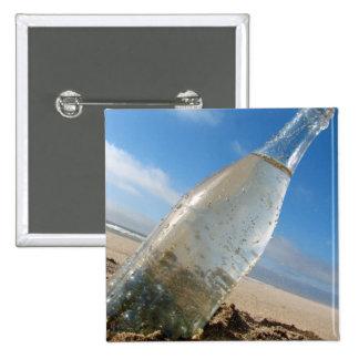 Bottle Tilt 15 Cm Square Badge