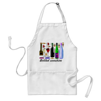 Bottled sunshine standard apron