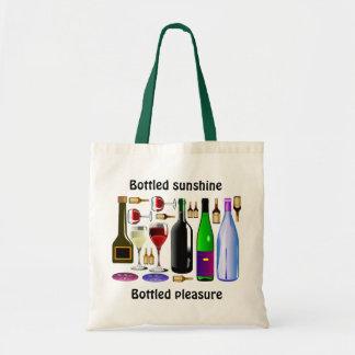 Bottled sunshine tote bag