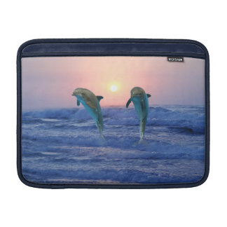 Bottlenose Dolphin at Sunrise MacBook Sleeve