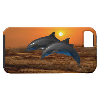 Bottlenose Dolphin at Sunset Case For The iPhone 5