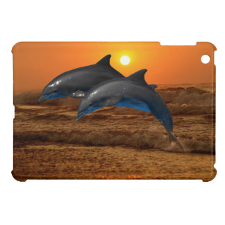Bottlenose Dolphin at Sunset iPad Mini Case