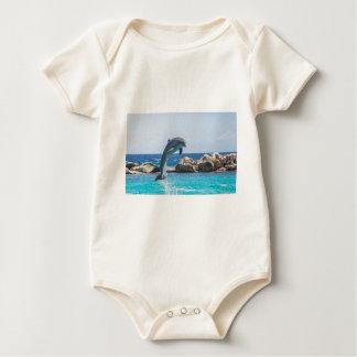 Bottlenose Dolphin Baby Bodysuit