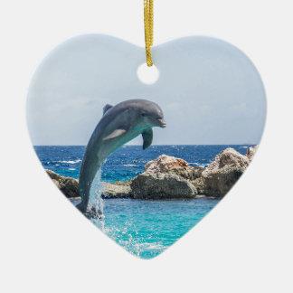 Bottlenose Dolphin Christmas Ornament