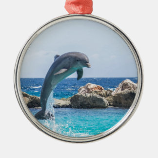 Bottlenose Dolphin Christmas Ornament