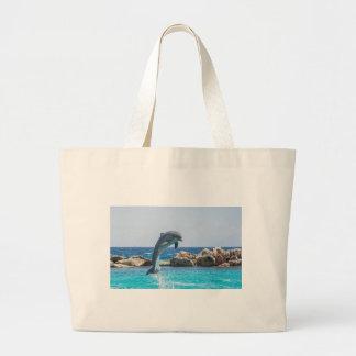 Bottlenose Dolphin Jumbo Tote Bag