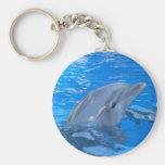 Bottlenose Dolphin Keychain