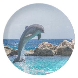 Bottlenose Dolphin Plate