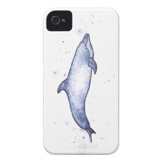 Bottlenose dolphin sea illustration iPhone 4 Case-Mate cases