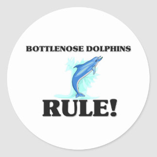 BOTTLENOSE DOLPHINS Rule! Stickers