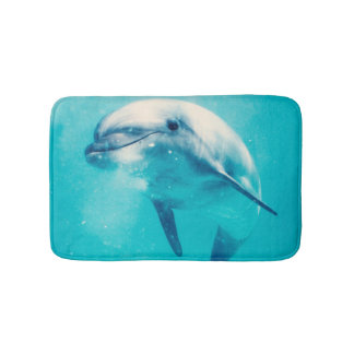 Bottlenosed Dolphin Underwater Bath Mat