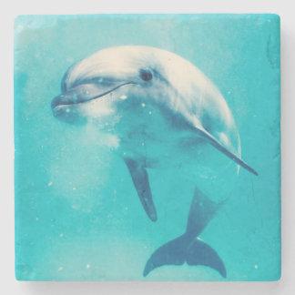Bottlenosed Dolphin Underwater Stone Coaster