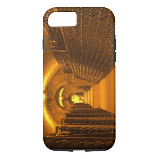 Bottles aging either in pupitres (racks) waiting iPhone 8/7 case