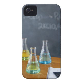 Bottles arranged for science experiment iPhone 4 Case-Mate cases