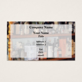 Bottles in General Store Business Card