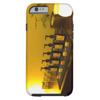 Bottles of aromatherapy oil in the beauty salon, tough iPhone 6 case