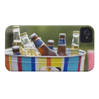 Bottles of beer in ice bucket Case-Mate iPhone 4 cases