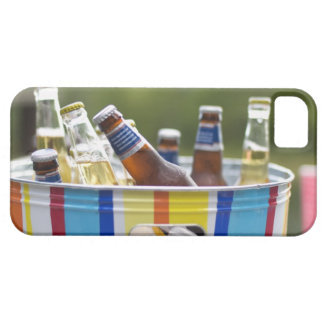 Bottles of beer in ice bucket iPhone 5 covers