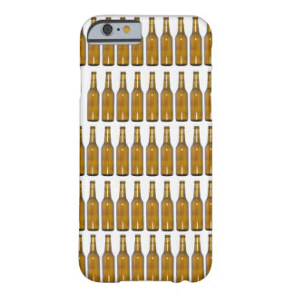 Bottles of beer on white background barely there iPhone 6 case
