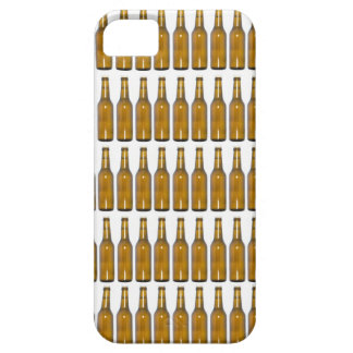Bottles of beer on white background iPhone 5 case