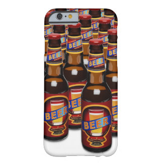 Bottles of beer side by side ( Composite) Barely There iPhone 6 Case