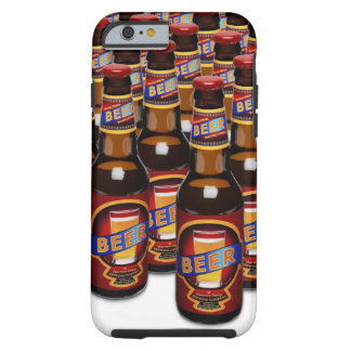 Bottles of beer side by side ( Composite) Tough iPhone 6 Case