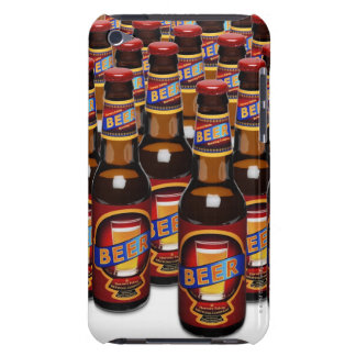 Bottles of beer side by side (Digital Composite) Barely There iPod Cases