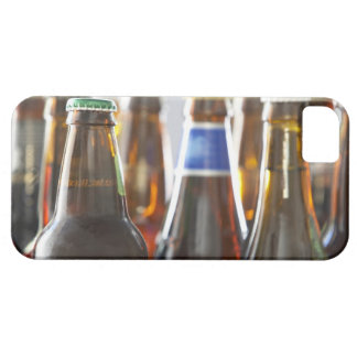 Bottles of various bottled beer in studio barely there iPhone 5 case