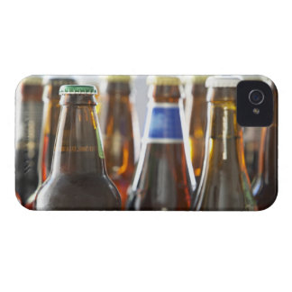 Bottles of various bottled beer in studio iPhone 4 Case-Mate case