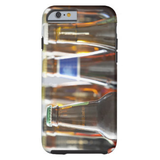 Bottles of various bottled beer in studio tough iPhone 6 case