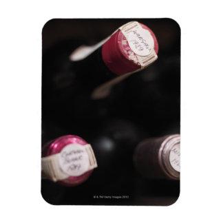 Bottles of wine, close-up, Sweden. Vinyl Magnet